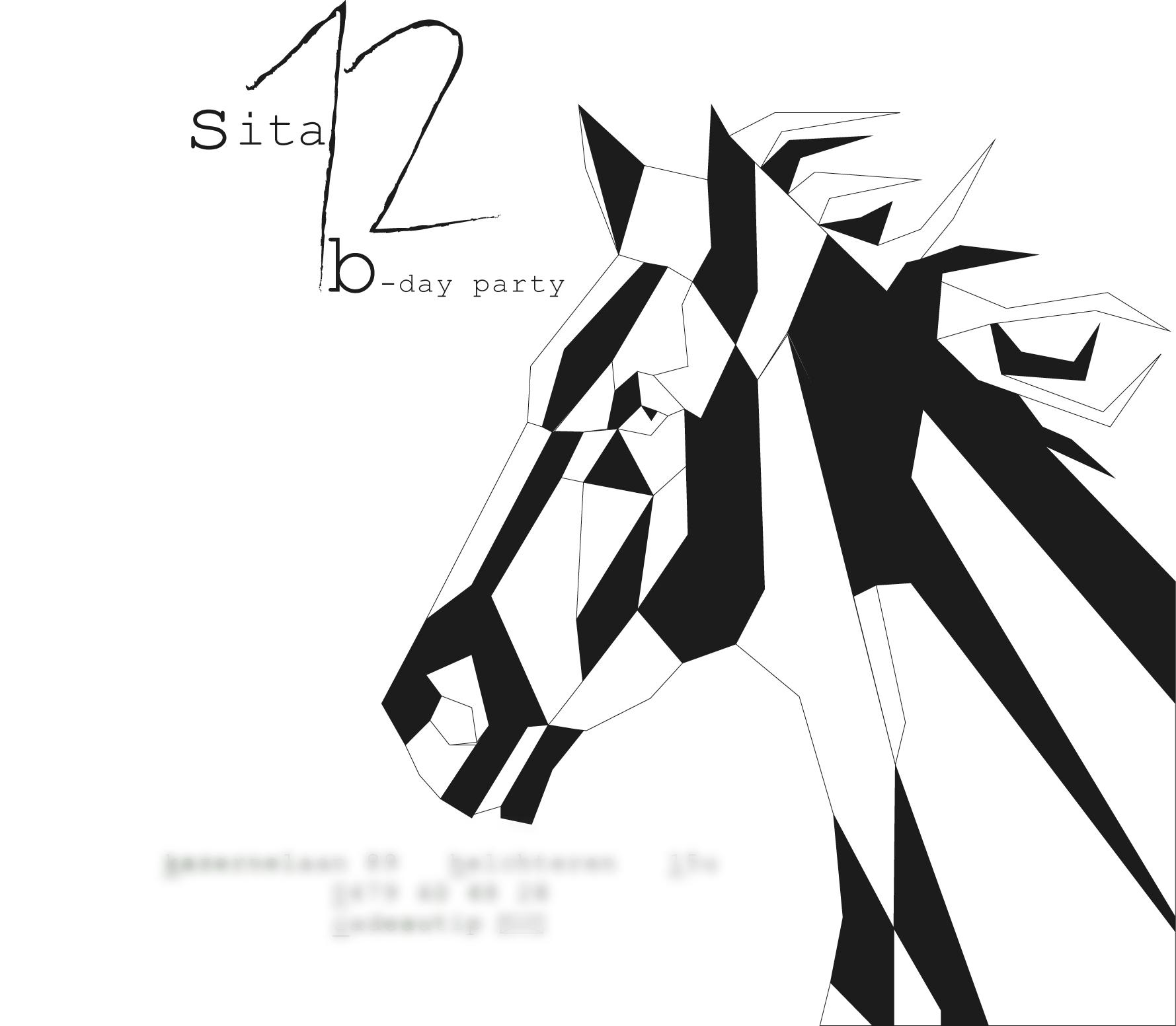 uitnodiging paard verjaardag