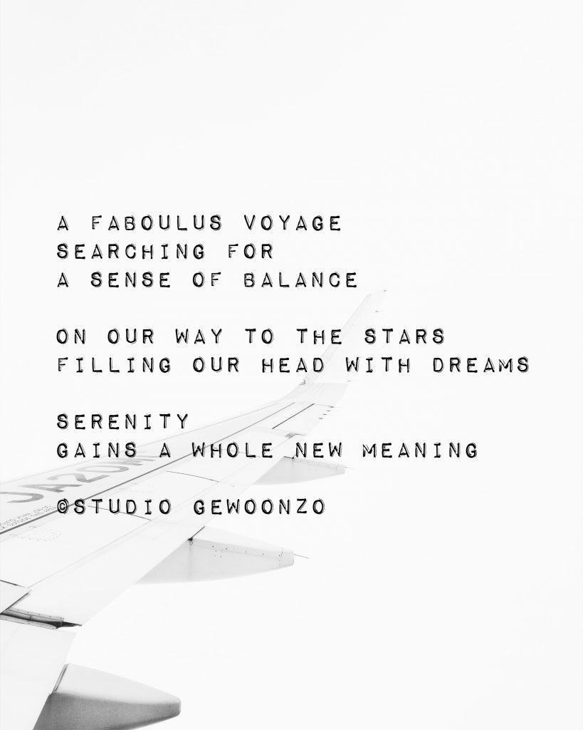 Poëzie - A faboulus voyage - ©Studio gewoonzo