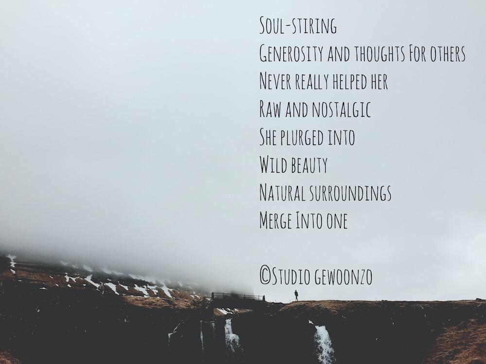 Poëzie - Soul stiring - ©Studio gewoonzo