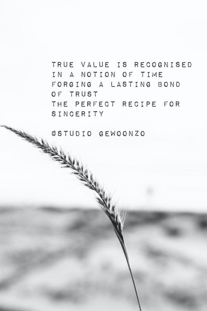 Poëzie - True value - ©Studio gewoonzo