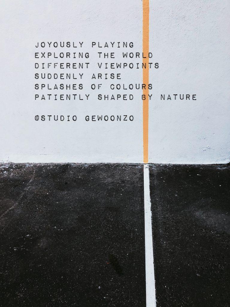 Poëzie - Joyously playing - ©Studio gewoonzo