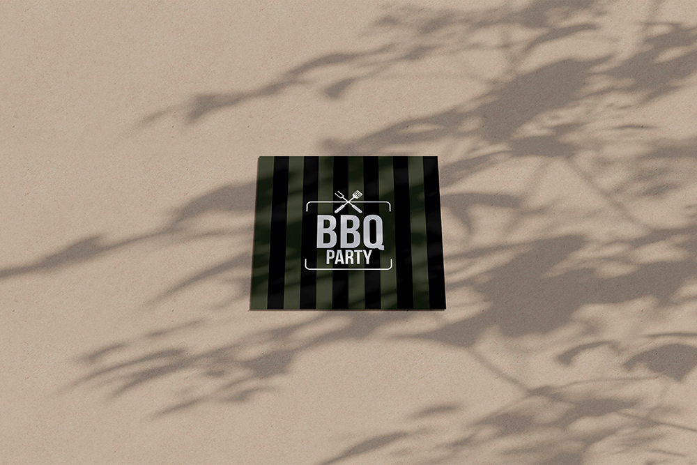 Uitnodiging verjaardag BBQ